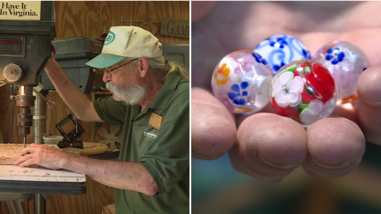 For nearly 40 years, the 'Marble Man' has made a career out of handcrafted games