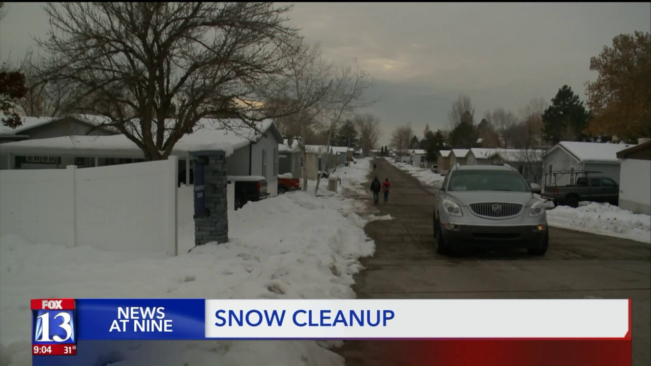 Layton residents wonder: Who's responsible for removing snow from sidewalks?