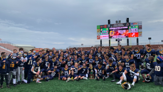 Kirtland hornets football state title