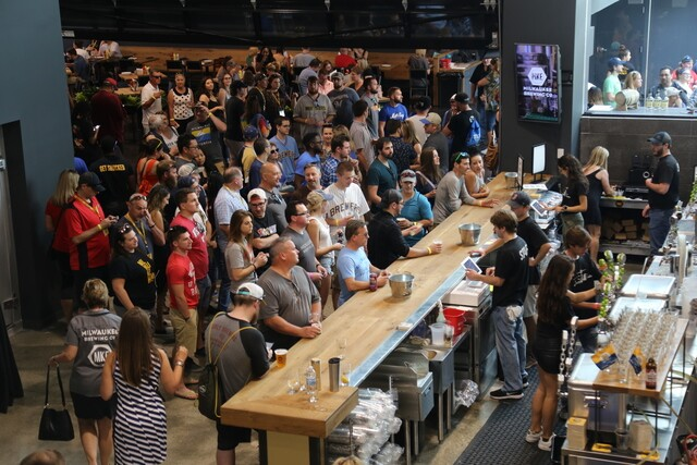 Milwaukee Brewing Co. grand opening