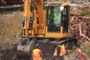 Crews wrap up final details of historic Rattlesnake Dam removal