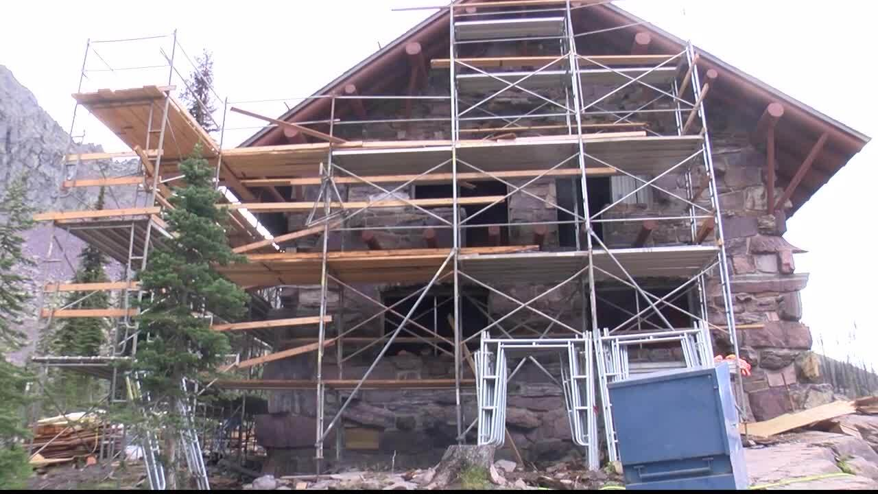 Historic Sperry Chalet open for the season