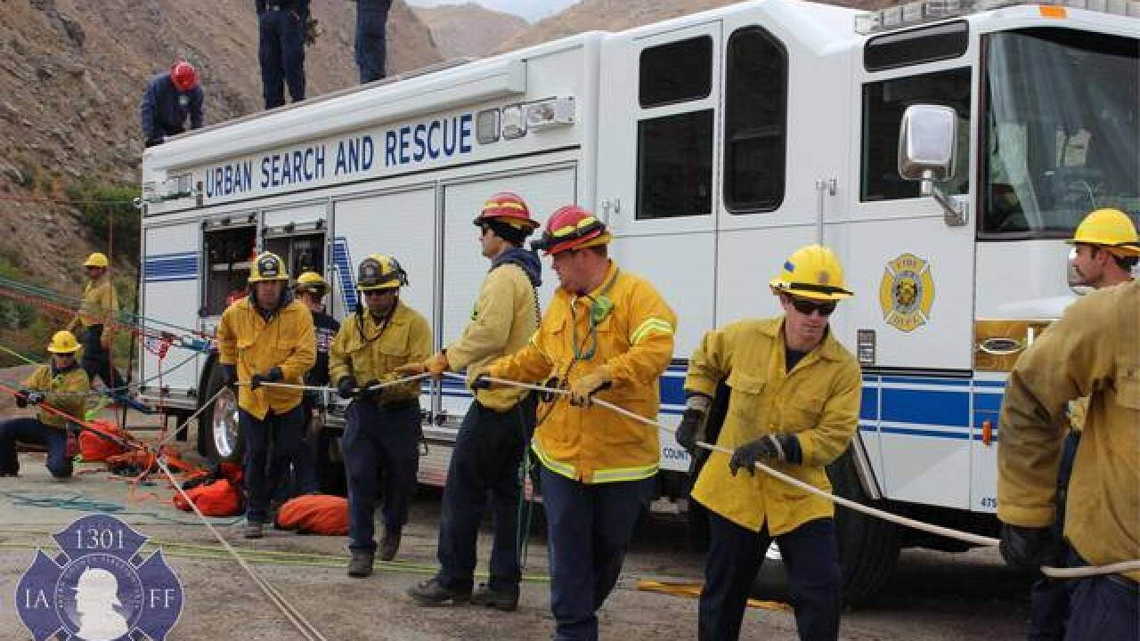 KCFD crews help out in SoCal following mudslides