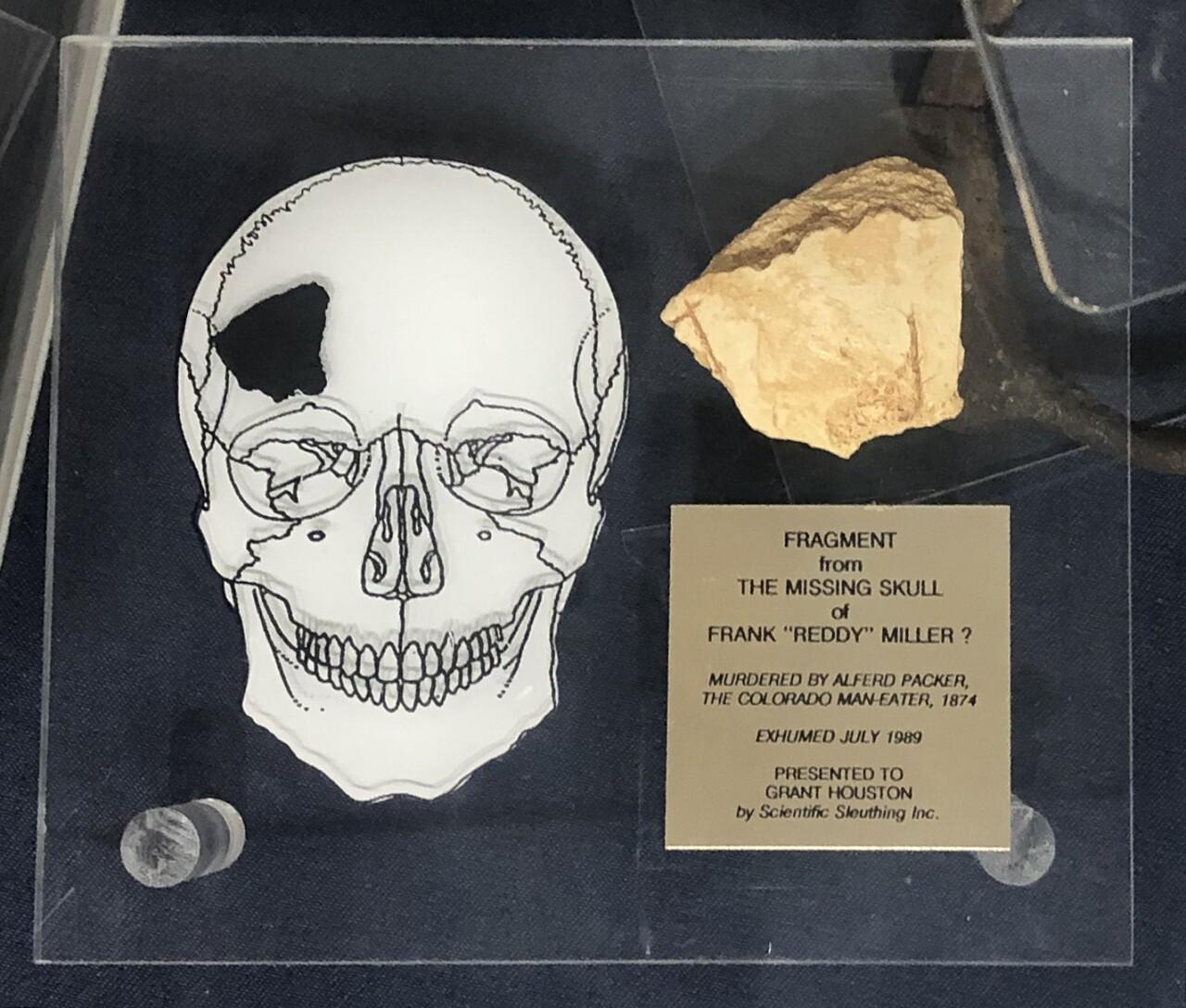 Alferd Packer_victim skull