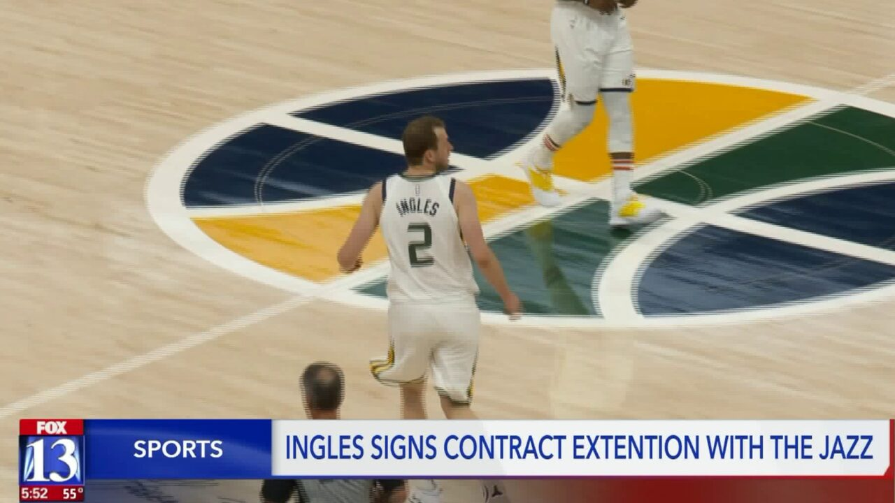 Utah Jazz and Joe Ingles sign 1-year, $14 million contract extension