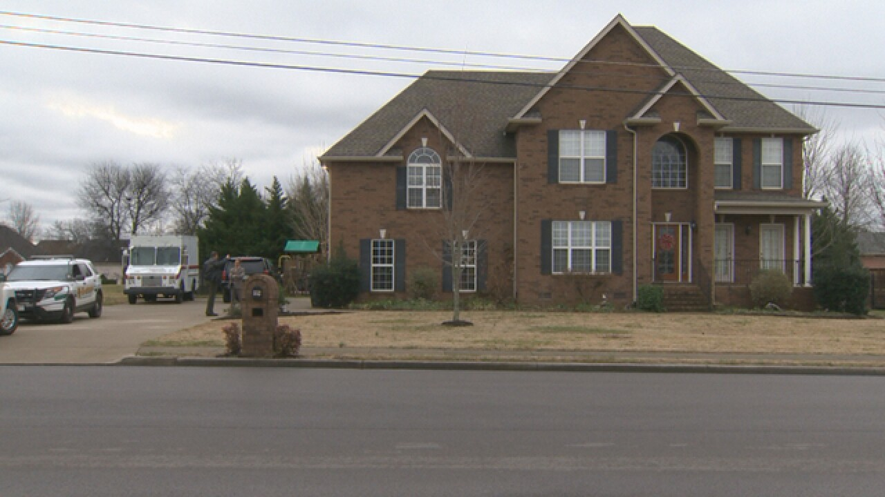 Car Seen At Sheriff's Home After Shots Fired