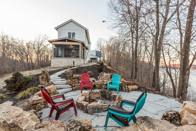 HOME TOUR: This AMAZING Bloomington lake house will blow your mind