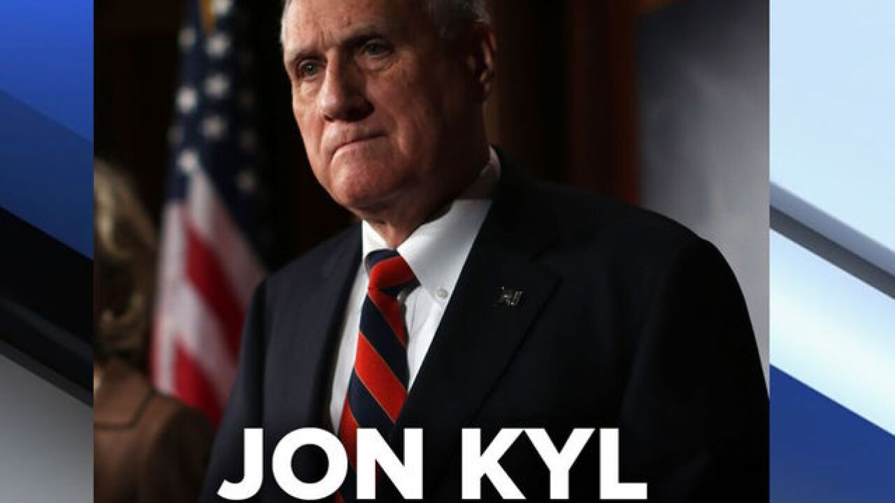 Jon Kyl to replace Sen. McCain in US Senate