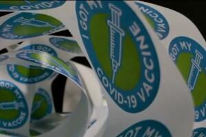 COVID Vaccine Sticker Booster Generic