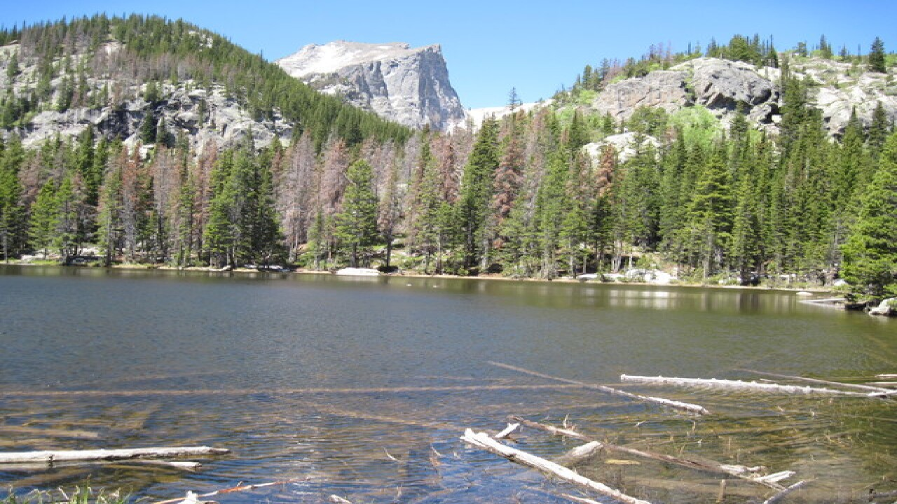 7 shortest lake hikes in Rocky Mt Natl Park