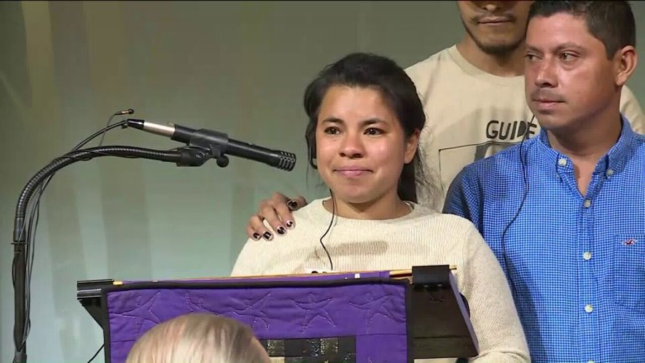 'I don't want to be taken away from my family' mother facing deportation finds sanctuary at Richmond church