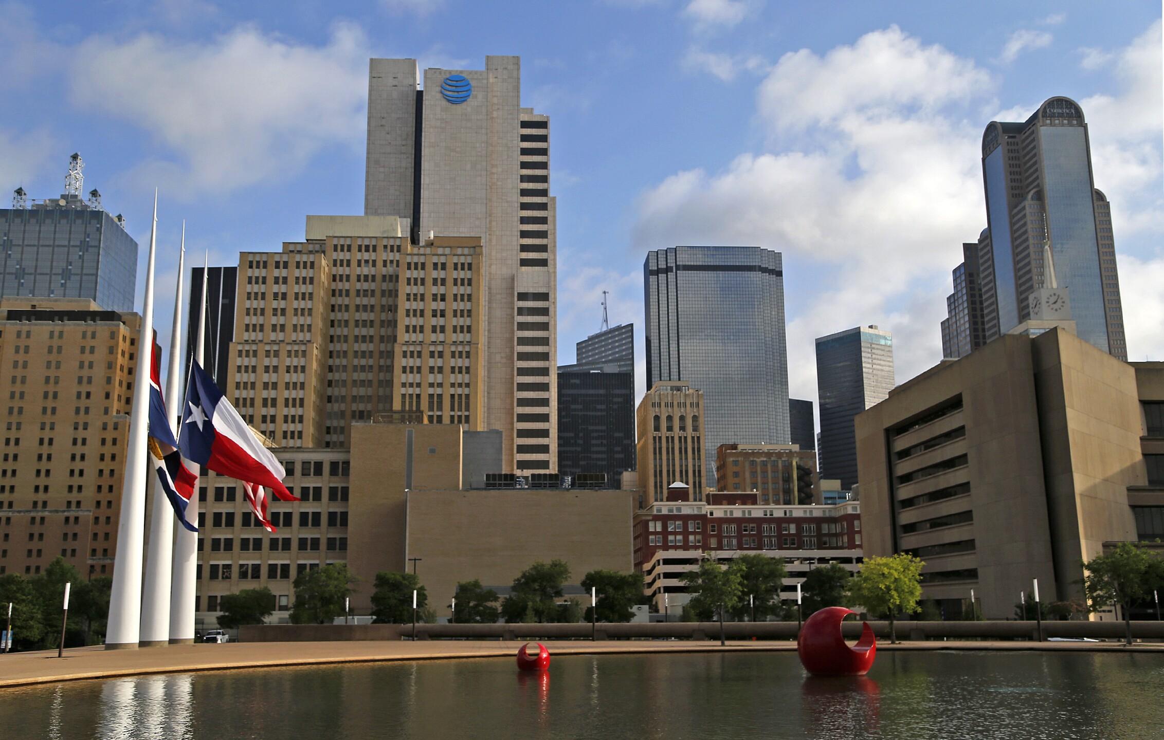 Dallas, TX skyline