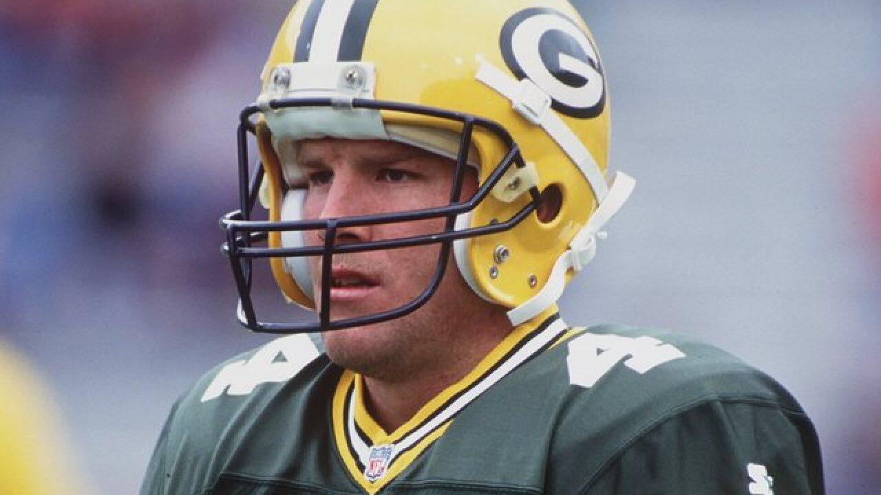 Brett Favre says he went to rehab 3 times fighting addictions