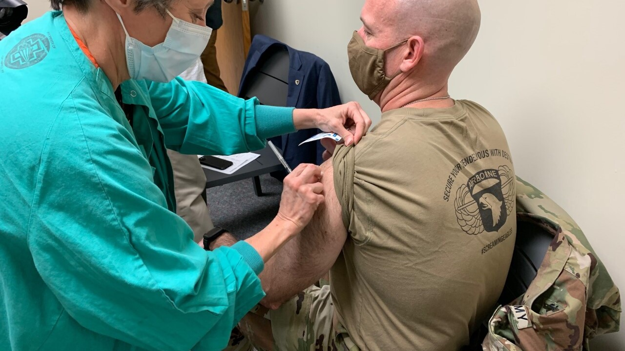 Fort Campbell vaccinations