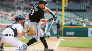 James McCann helps White Sox rout Tigers in series finale