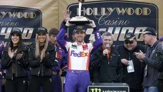Denny_Hamlin_Monster Energy NASCAR Cup Series Hollywood Casino 400