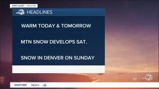 Feb. 21, 2020 5:15 a.m. forecast