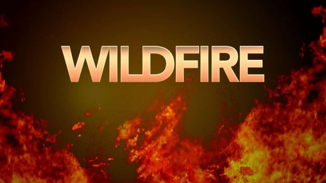 Wildfire burning in western Park County