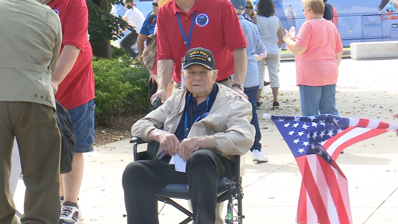 Talons Out Honor Flights