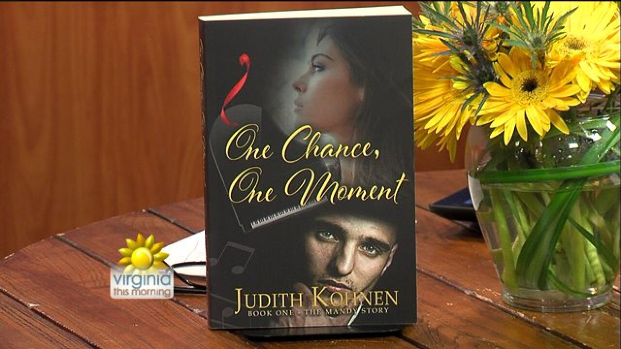 Author Judith Kohnen introduces her debut novel inspired by Barry Manilow's 'Mandy'