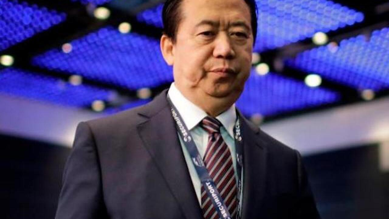 Head of Interpol accused of corruption, Chinese government says