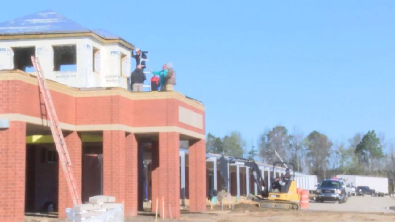 Georgia High School nears completion of first phase of expansion