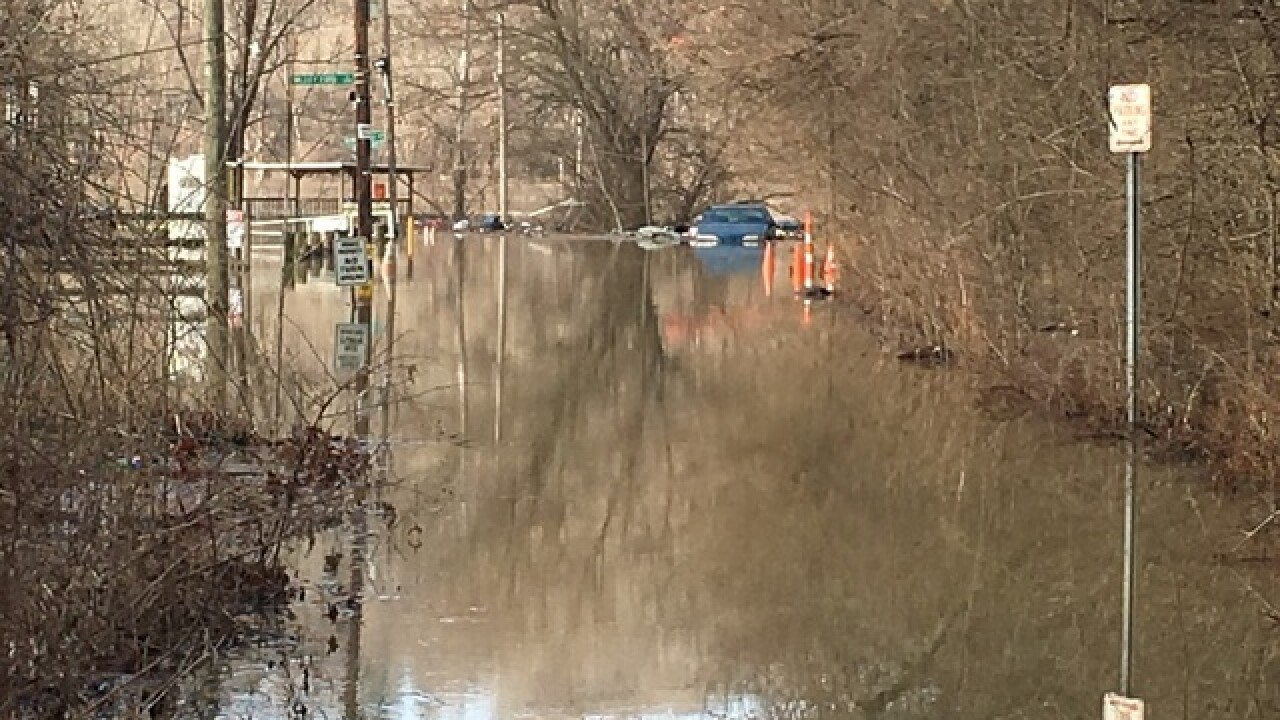 Flood Warning for Ohio River starting Monday