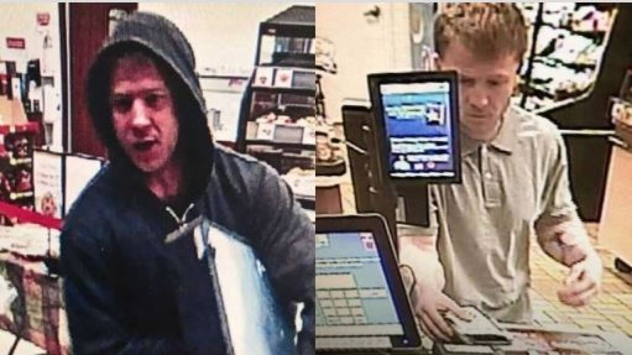 Suspect wanted for taking cash out of register