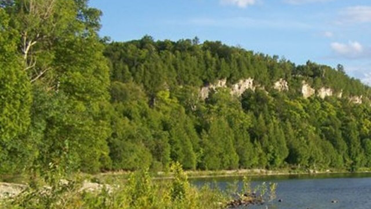 70-year-old man dies after falling off a cliff at Peninsula State Park in Door County