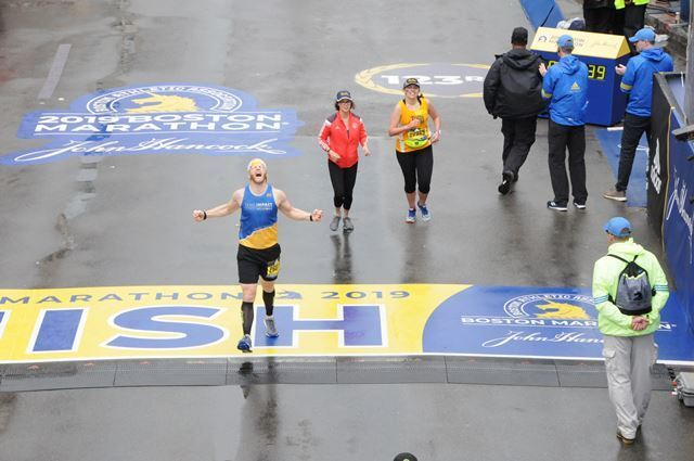 Boston Marathon - 50th marathon!.JPG