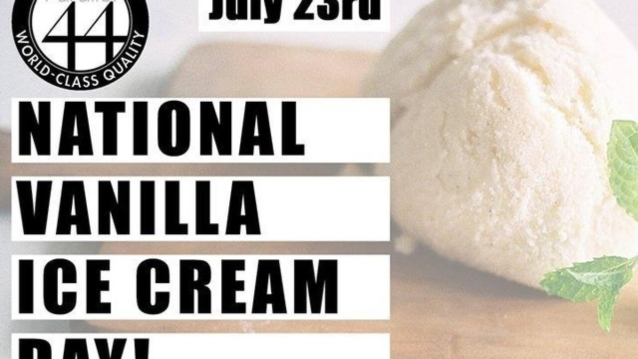 Nat'l Vanilla Ice Cream Day at Parallel 44