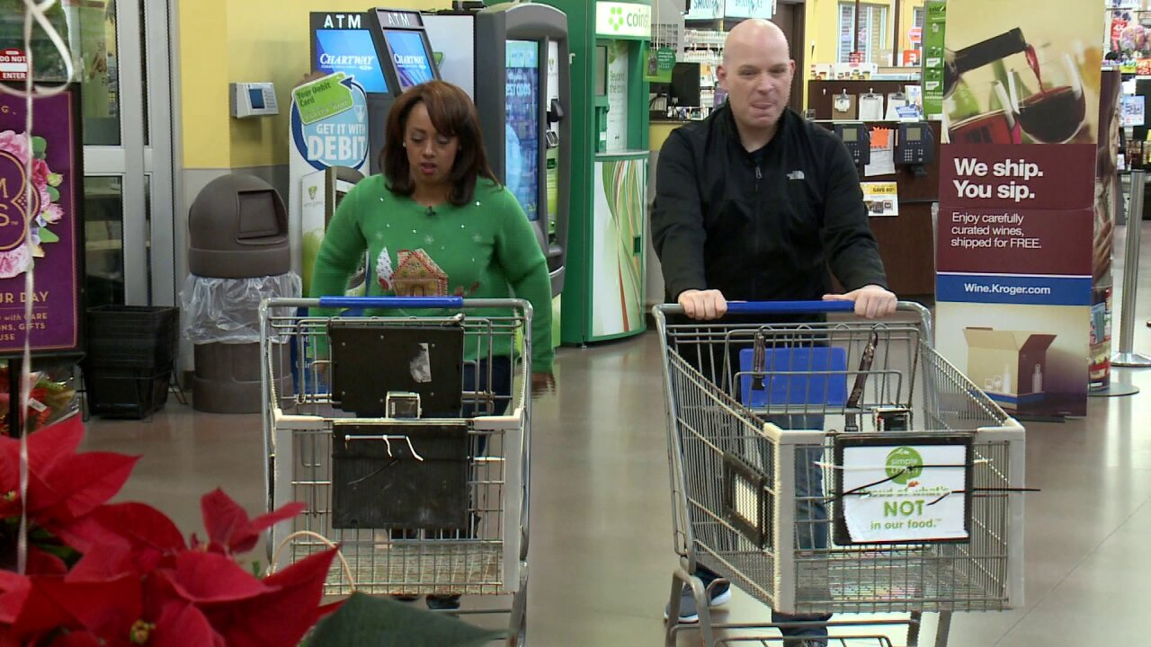 News 3 This Morning celebrates Christmas meal shopping with Supermarket Sweep