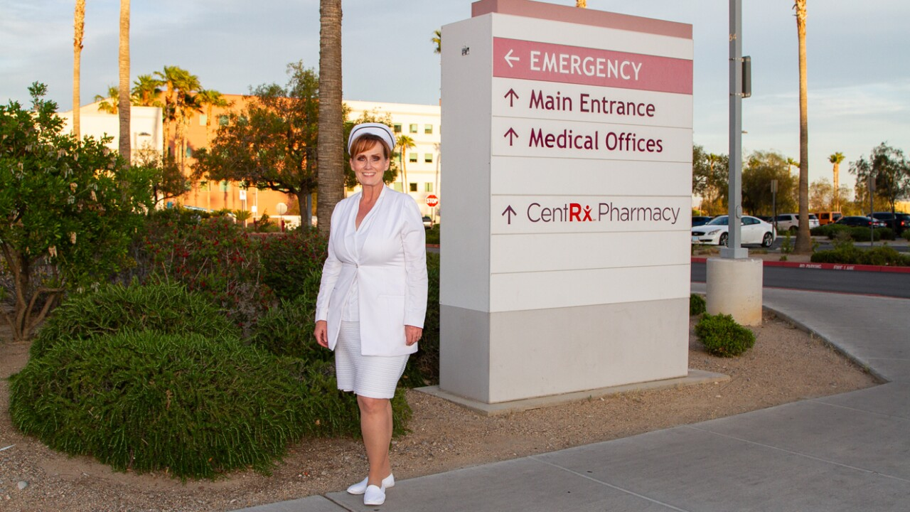 Janet Wright is the Chief Nursing Officer at Centennial Hills Hospital.