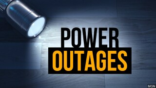 Crews are responding to weather related power outages in the area