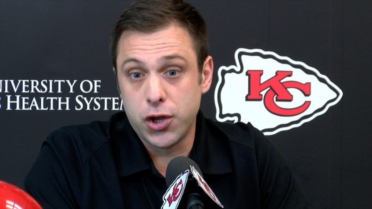 Chiefs GM Brett Veach ready for NFL Draft