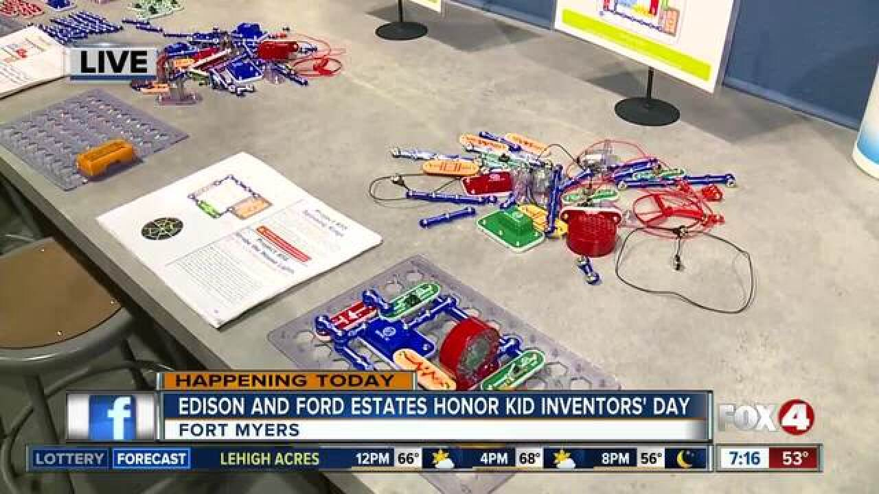 Celebrate National Kid Inventors' Day