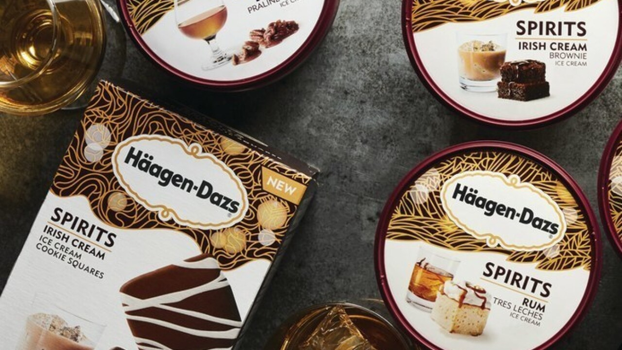 Häagen-Dazs unveils new booze-infused ice cream flavors