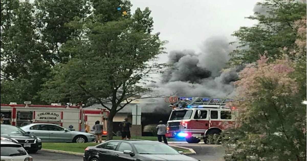 One person is dead after a fire in southeast Colorado Springs