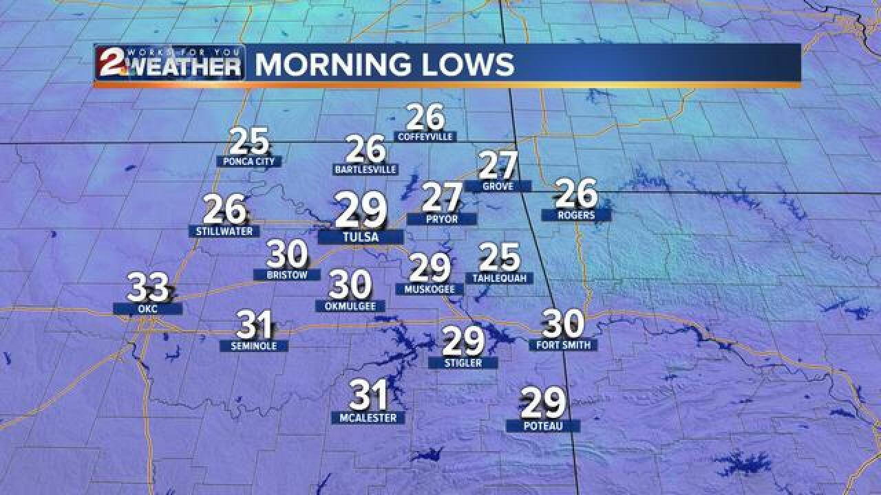 BLOG: Historic Last Freeze Monday Morning