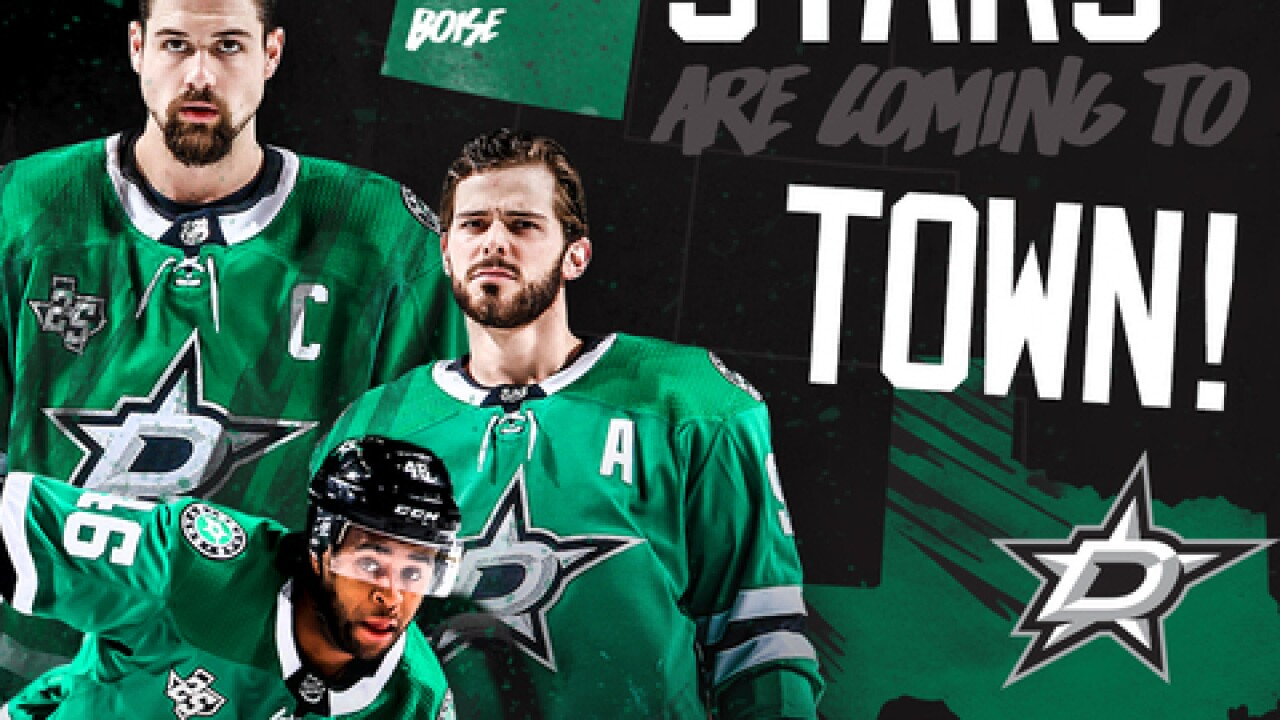 Dallas Stars Training Camp to be held in Boise