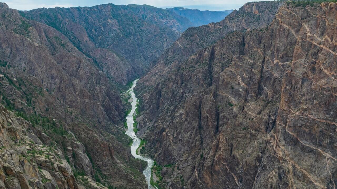Black Canyon of the Gunnison by Dieter Pohlen.jpg