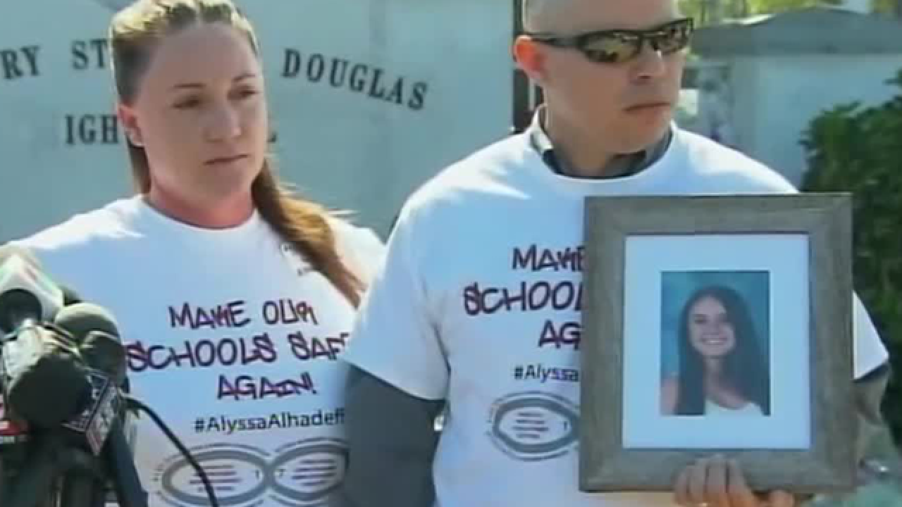 Marjory Stoneman Douglas Victims' families support school safety reform