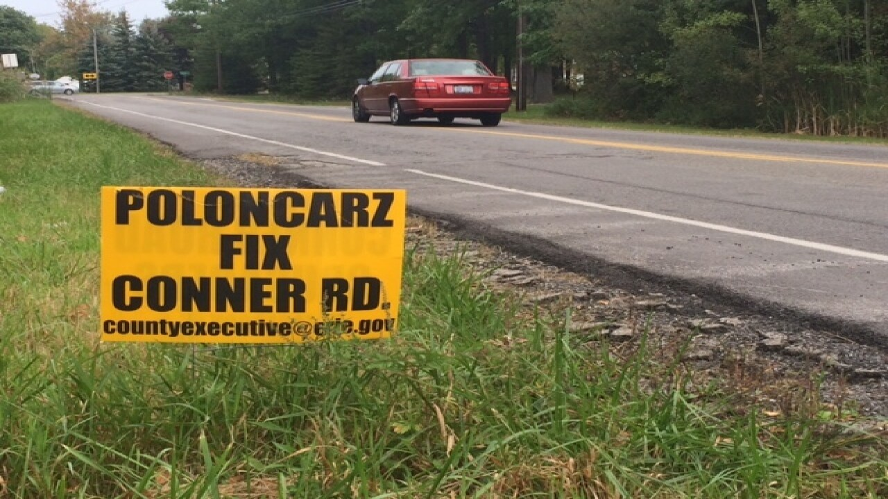 Renewed call for Erie County to fix Conner Road