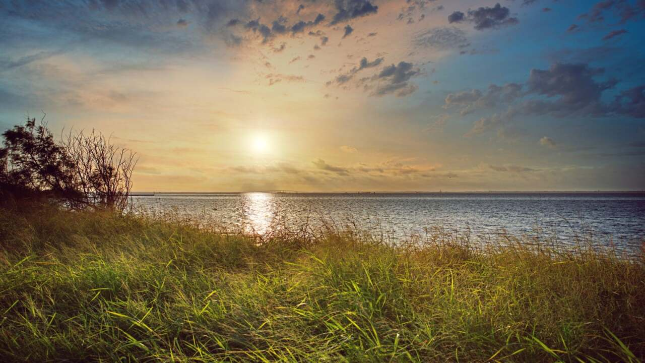 Laguna Madre Sunrise - Photo By: FB Coastal Bend Weather Watcher Ian Cummings