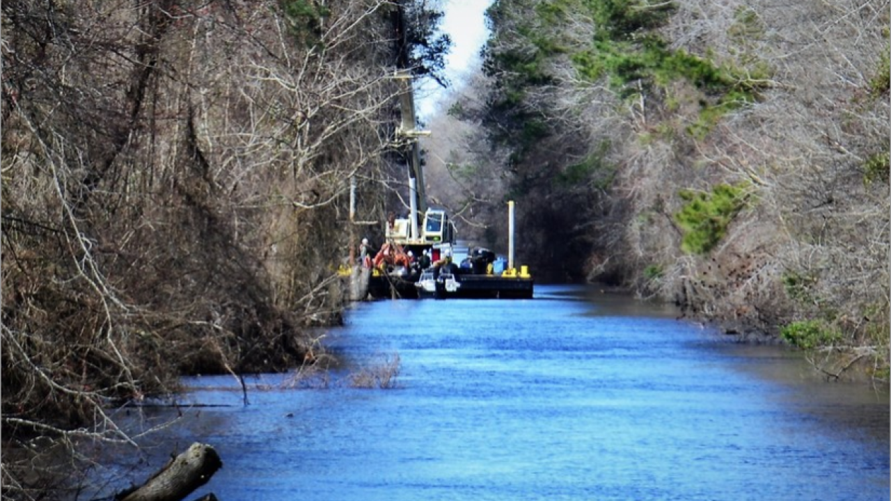 Norfolk District to begin Dismal Swamp Canal dredging