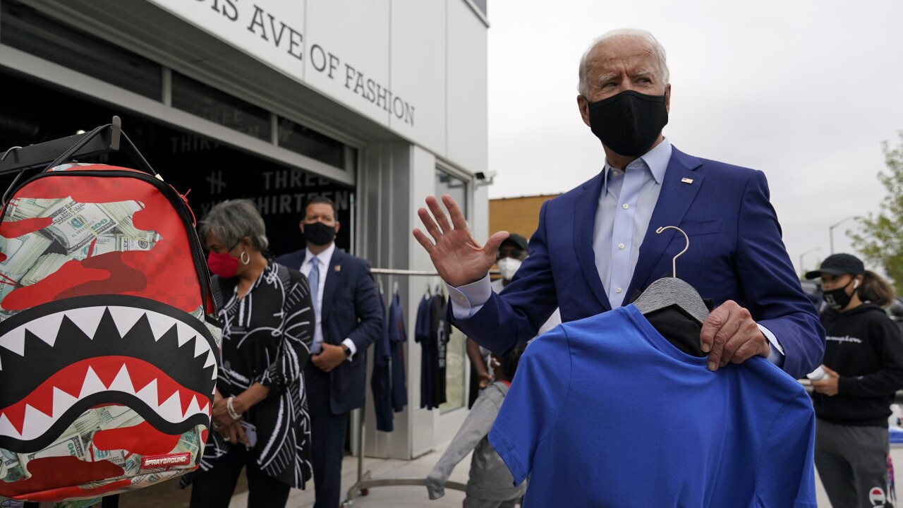 Biden returns to Michigan on Saturday to campaign on Halloween