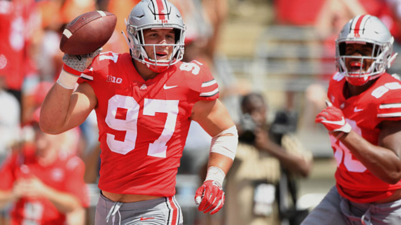 Nick Bosa leaves OSU to prep for pro career