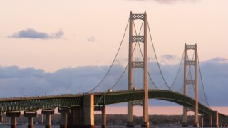 Mackinac Bridge traffic rises every month in '15