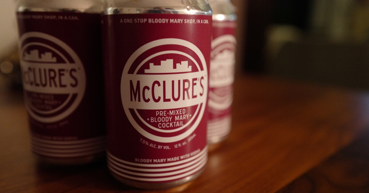 New canned Bloody Mary cocktails coming to Michigan grocery stores