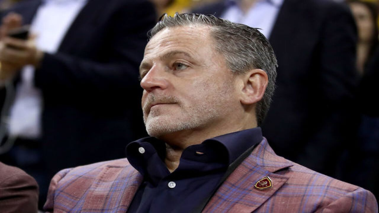 34b5a7746af2 Cavs owner gets  vile  voicemails after LeBron s  bum  tweet